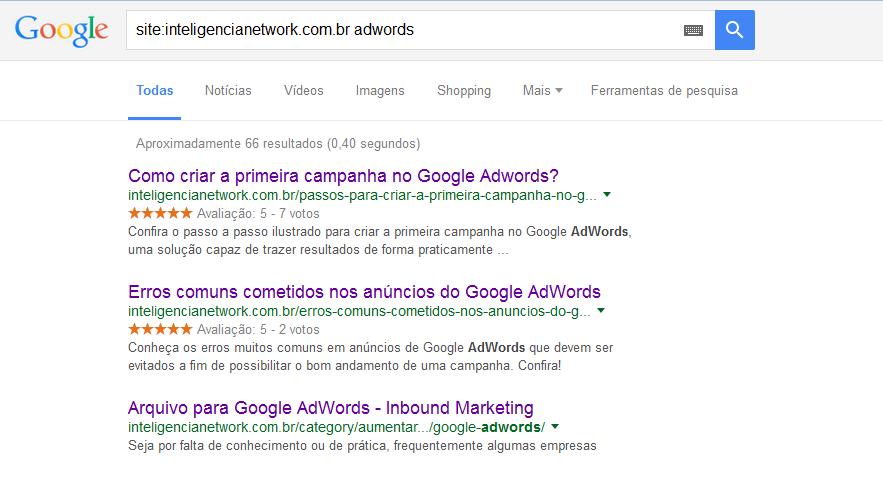 Google busca 1 - site