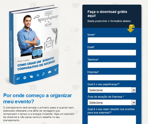 Perguntas Landing Pages