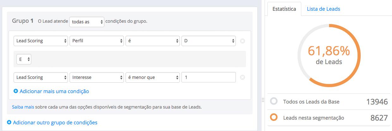 Lead Scoring segmentação