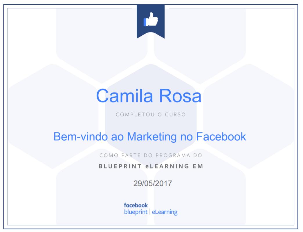 certificado facebook blueprint